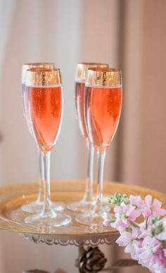 The only thing I love more than champagne is rose champagne <3