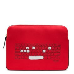 "Kate Spade - Keyboard Laptop Sleeve  > neoprene sleeve with cute keyboard design; fits most 15"" laptops.  retails for $60.00"