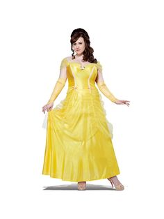 Bring a favorite fairy tale character to life with this stunning Classic Beauty Women's Plus Size Costume.