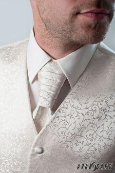Pánská košile se svatební vestou, regatou a kapesníčkem. Vše značka AVANTGARD.   ///   Men's shirt cufflinks, wedding vest and tie and handkerchief. Brand AVANTGARD. Tie Clip, Fashion, Moda, Fashion Styles, Fashion Illustrations, Tie Pin