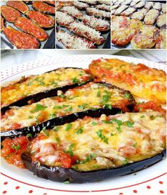 Finger Foods, Quiche, Zucchini, Food And Drink, Cooking Recipes, Vegetarian, Vegetables, Breakfast, Yummy Yummy