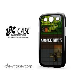 Minecraft Diging DEAL-7273 Samsung Phonecase Cover For Samsung Galaxy S3 / S3 Mini