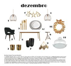 home, shopping list, gold, trend, decoration, deco, star, interior design, tableware, Christmas 2015
