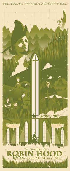 Robin Hood - Marinko Milosevski Illustration and Design