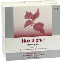 HOX alpha Hartkapseln:   Packungsinhalt: 100 St Hartkapseln PZN: 08400621 Hersteller: Strathmann GmbH & Co.KG Preis: 39,91 EUR inkl. 19 %…