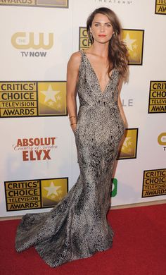 Keri Russell in J. Mendel at the Critics' Choice Awards