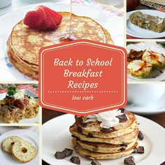 18 Low-Carb, Back-To-School Breakfast Recipes, Including Almond Joy Pancakes