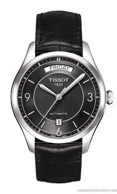 Tissot T One Mens Black Stainless Automatic Watch - #man #fashion #accessories
