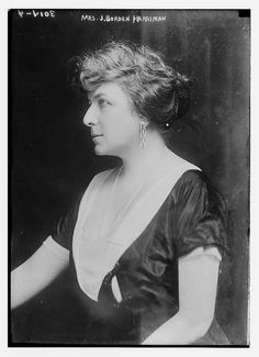 """Florence Jaffray """"Daisy"""" Harriman (July 21, 1870 – August 31, 1967) was an American socialite, suffragist, social reformer, organizer, and later, a courageous diplomat. """"She led one of the suffrage parades down Fifth Avenue, worked on campaigns on child labor and safe milk and, as minister to Norway in World War II, organized evacuation efforts while hiding in a forest from the Nazi invasion."""" In her 92nd year, President John F. Kennedy awarded her a Citation of Merit for Distinguished…"""