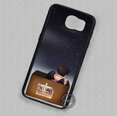 Cute Lonely Angel Castiel Supernatural - Samsung Galaxy S7 S6 S5 Note 7 Cases & Covers