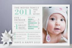 Baby's First Holiday Cards