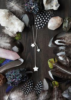 Trio: silver & pearl