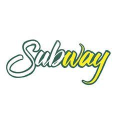 Subway #logo #lettering