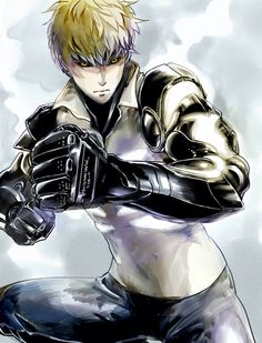Genos (One Punch Man) Image - Zerochan Anime Image Board One Punch Man Anime, Saitama One Punch Man, Wizyakuza Anime, Man Images, Anime Shows, Tokyo Ghoul, Manga Anime, Fan Art, Animation