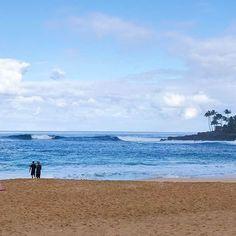 【mymis_】さんのInstagramをピンしています。 《* テピーハート初サーフ🏄🏾💕 ダブルオーバー🌊🌊 #hawaii#honeymoon#trip#travel#vacation#honolulu#sea#beach#wave#surf#surfing#waimea#海#波》