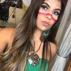 Maquiagem de Índia / Pocahontas para curtir o Carnaval