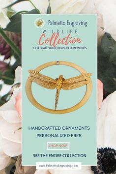 Looking for Unique Dragonfly Gifts? This Personalized Dragonfly Ornament is a perfect keepsake to add to any Dragonfly Lover's Christmas tree. Unique Christmas Gifts, Christmas Gift Guide, Holiday Gifts, Rustic Christmas, Christmas Decor, Country Wedding Favors, Unique Wedding Favors, Secret Santa Gift Exchange, Secret Santa Gifts