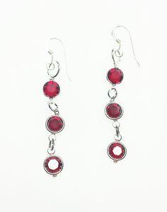 Sweet Heart Swarovski Drop Earrings Online Boutiques, Handcrafted Jewelry, Swarovski, Jewelry Design, Charmed, Drop Earrings, Elegant, Heart, Sweet