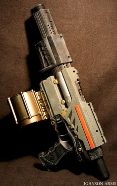 Starwars Themed Nerf Gun by JohnsonArms.deviantart.com on @deviantART