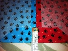 How to make a bandana. Reversible Over The Collar Dog Bandana - Step 9