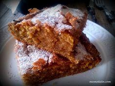 κέικ κολοκύθας Cookie Dough Pie, Banana Bread, Cake Recipes, French Toast, Food And Drink, Pumpkin, Sweets, Homemade, Cooking