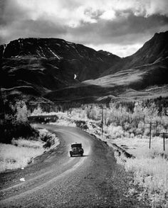mile 427 of the Alcan Highway, Canada, 1948