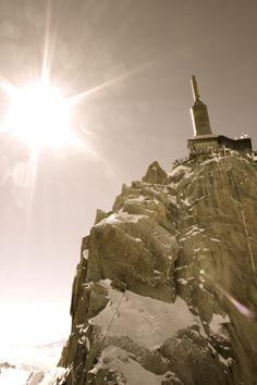 L'Aiguille du Midi-Massif du Mont-Blanc