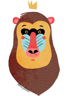 #illustration #gorila #animals anduluplandu.com