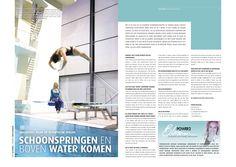 Interview met Uschi Freitag, Olympisch schoonspringster door Mariska van der Meulen. Geplaatst in Goeie Zaken, Business magazine voor Regio Eindhoven.