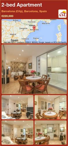 Apartment for Sale in Barcelona (City), Barcelona, Spain with 2 bedrooms - A Spanish Life Barcelona City, Barcelona Spain, Bilbao, Toulouse, Valencia, Metro Station, Water Quality, Double Bedroom, Apartments For Sale