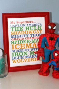 Super Nursery for a Superhero!