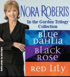Garden trilogy by Nora Roberts- get all three before you start reading because you can't put them down!
