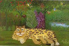 Tigra parida - Noe Leon