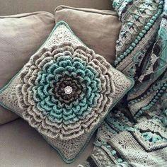 Never Ending Flowers – Granny Square [Crochet Free Pattern] | Styles Idea