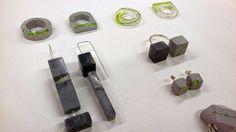 Jesmonite Jewellery