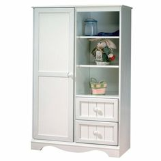 On Order - South Shore Savannah Collection Door Chest - White