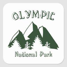 Shop Glacier National Par Square Sticker created by esskay. Jasper National Park, Rainier National Park, Sequoia National Park, Yosemite National Park, National Parks, Hiking Gifts, Camping Gifts, Hiking Gear, Tent Camping