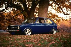 The #classic #Audi 50, you'll see very few of them around.