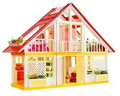 This was the Dreamhouse I had when I was little. I loved it! It was HUGE! --26 Things Absolutely Every Girl Who Grew Up Playing With Barbies Did