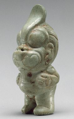 Olmec Eagle Transformation Figure (c. 900-500 B.C.)