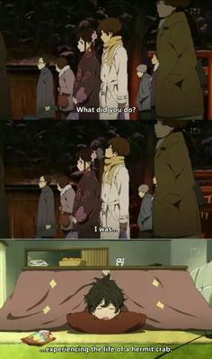 #anime  #recomendation  #Hyouka Oreki is soooo me...