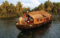 Hausboot-Fahrt in den Backwaters bei Alleppey (Kerala), Teil der Indienreise http://www.mahatravel.com/klassiker_suedindien-kultur-und-erholung