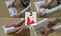 Marie Kondo reveals her step-by-step guide for a flawless t-shirt fold Laundry Art, Laundry Tips, Laundry Room, Baby Shirts, T Shirts, T Shirt Folding, Marie Kondo, Konmari, Japanese Outfits