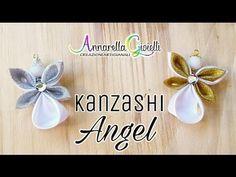 Annarella Gioielli Supplies: White satin square: 7x7 cm; lurex ribbon: 5x5 cm; white satin ribbon: 6x6 cm; pearls 14 mm; strass; pins. ------------------...