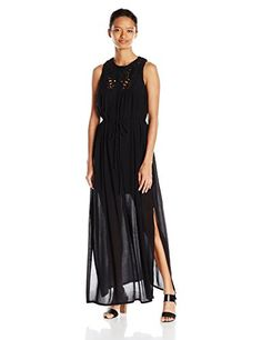Roxy Juniors Shining Sea Tank Dress True Black XSmall >>> You can find more details by visiting the image link.(This is an Amazon affiliate link)