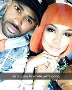 Rapper #BigSean and singer #JheneAiko They look real cute together in this snap #Twenty88