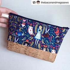 Cork-a-licious! My sweet friend @thebaconandmegssews added a little cork fabric to a Becca Bag and it's gorgeous! Have you tried cork fabric? ・・・#repost @thebaconandmegssews I hope everyone is ready for a cork overload because I am one smitten kitten!!! I