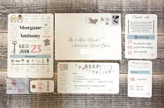 { Mes invitations }   The Perfect Day by Janine