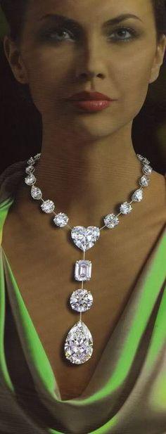 Graff Diamonds, wowzer! OMG fresh water d...and graine!!!