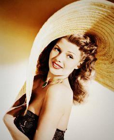 Margarita Canino (aka. Rita Hayworth).  The most beautiful face to ever grace the silver screen.